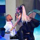 Ariana Grande – Performs at Billboard Music Awards 2018 in Las Vegas - 454 x 597