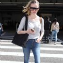 Brooklyn Decker in Jeans at LAX airport in Los Angeles - 454 x 688