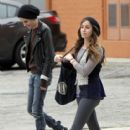 Samantha out with a mystery female in LOs Angeles March 25, 2011 - 415 x 590