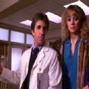 Henry Winkler and Shelley Long