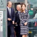 The Duke & Duchess of Cambridge Visit Manchester - 441 x 600