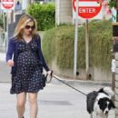 Anna Paquin taking her dog for a walk in Venice, CA (August 24) - 454 x 544