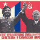 Fidel Castro and Nikita Khrushchev - 454 x 303