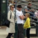 Ryan Phillippe Coaches Deacon's Baseball Game