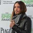 Jared Leto attends the 2014 Film Independent Spirit Awards at Santa Monica Beach on March 1, 2014 in Santa Monica, California