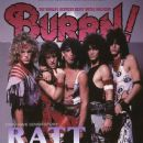 Stephen Pearcy, Warren Demartini, Bobby Blotzer, Robbin Crosby, Juan Croucier - Burrn! Magazine Cover [Japan] (March 2014)