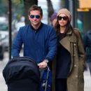 Bradley Cooper and Irina Shayk in New York City