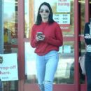 Olivia Munn Shopping at Staples in Los Angeles - 454 x 637