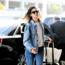 Emmy Rossum – Arrives at LAX Airport in LA - 454 x 699