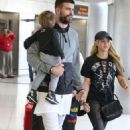 Shakira With Her Family at the Airport in Miami 12/19/ 2016 - 454 x 681