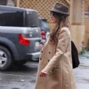 Penelope Cruz shopping shopping Ed Hardy 12/22/10
