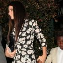 Sandra Bullock – Celebrates her 54th birthday at Mr. Chow in Beverly Hills