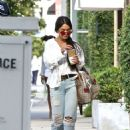 Vanessa Hudgens Leaving Alfred's coffee in West Hollywood