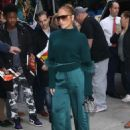 Jennifer Lopez in Green – Outside of the DGA Theater in New York