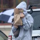 Kylie Jenner Leaving Rite Aid In Calabasas