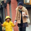 Michelle Williams and daughter Matilda were spotted on a school run in New York City on Tuesday morning (October 27).