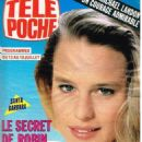Robin Wright - Tele Poche Magazine Cover [France] (8 July 1991)