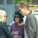 June 23, 2017 - Vanessa Hudgens and Austin Butler out in New York