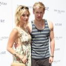 Ashley Benson and Chord Overstreet at the Azure Labor Day Weekend Pool Party at the Palazzo Hotel and Casino in Las Vegas, Nevada on September 1, 2012 - 454 x 562