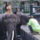 Kim Kardashian – Vacation in Bali