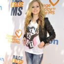 Avril Lavigne Races to Erase MS