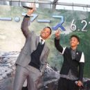 Will and Jaden Smith at the