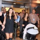 Kim Kardashian: arrived at Miami International Airport