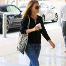 Natalie Portman At The Creative Artists Agency In La