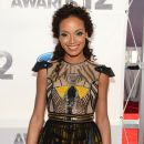 Selita Ebanks arrives at the 2012 BET Awards at The Shrine Auditorium on July 1, 2012 in Los Angeles, California - 387 x 594