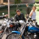(L - R) Tim Allen, John Travolta, William H. Macy and Martin Lawrence in Wild Hogs. Photo Credit: Lorey Sebastian. © Touchstone Pictures. All Rights Reserved