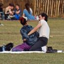 FKA Twigs and boyfriend Reuben Esser – Out in the park in London