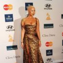 Amber Rose and Wiz Khalifa  arrive at Clive Davis and the Recording Academy's 2012 Pre-GRAMMY Gala and Salute to Industry Icons Honoring Richard Branson held at The Beverly Hilton Hotel in Beverly Hills, California - February 11, 2012 - 395 x 594