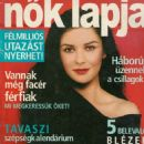 Nõk Lapja Magazine Cover [Hungary] (26 February 2003)