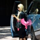 Holly Madison – Visit to a friends house in West Hollywood