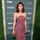 Alexandra Daddario – CFDA Variety and WWD Runway to Red Carpet in LA - 454 x 681