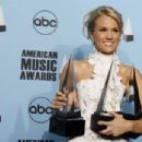 Carrie Underwood - Press Room, 2007 American Music Awards 2007-11-18