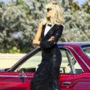 Karolina Kurkova on a photoshoot in Miami - 454 x 663