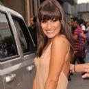 Lea Michele: Alexander Wang - Spring 2012 Mercedes-Benz Fashion Week