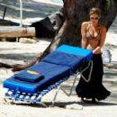 Rachel Stevens - In Bikini At The Beach In Barbados