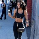 Karrueche Tran – Seen out in Los Angeles - 454 x 681