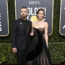 Justin Timberlake and Jessica Biel : 75th Annual Golden Globe Awards - 400 x 600