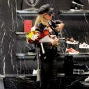 Paris Hilton – Shopping at Philipp Plein boutique in Milan - 454 x 681