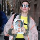 Rose McGowan at The View in NYC - 454 x 701