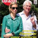 Richard Gere and Alejandra Silva Friedland - 454 x 634