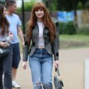 Nicola Roberts – Arrives at the Peter Pan launch in London - 454 x 635