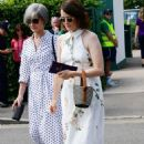 Claire Foy – Wimbledon Tennis Championships 2019 in London - 454 x 681