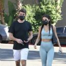 Chantel Jeffries – With Andrew Taggart seen after gym in Los Angeles