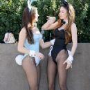 Jayde Nicole Dressed As A Playboy Bunny