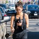 Brenda Song leaving a gym in West Hollywood, California on January 25, 2014 - 436 x 594