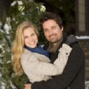 Brooke Burns and Warren Christie